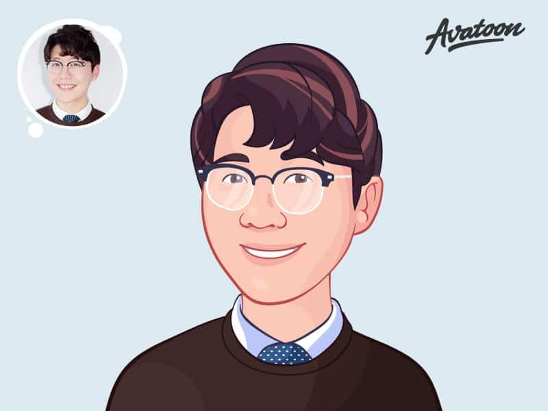 Create a simple vector avatar online