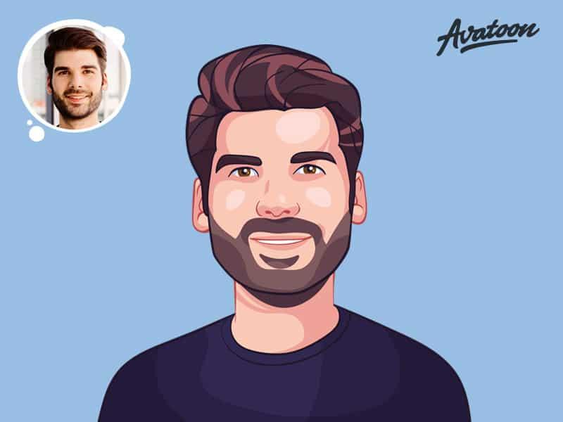 Creative custom digital portrait