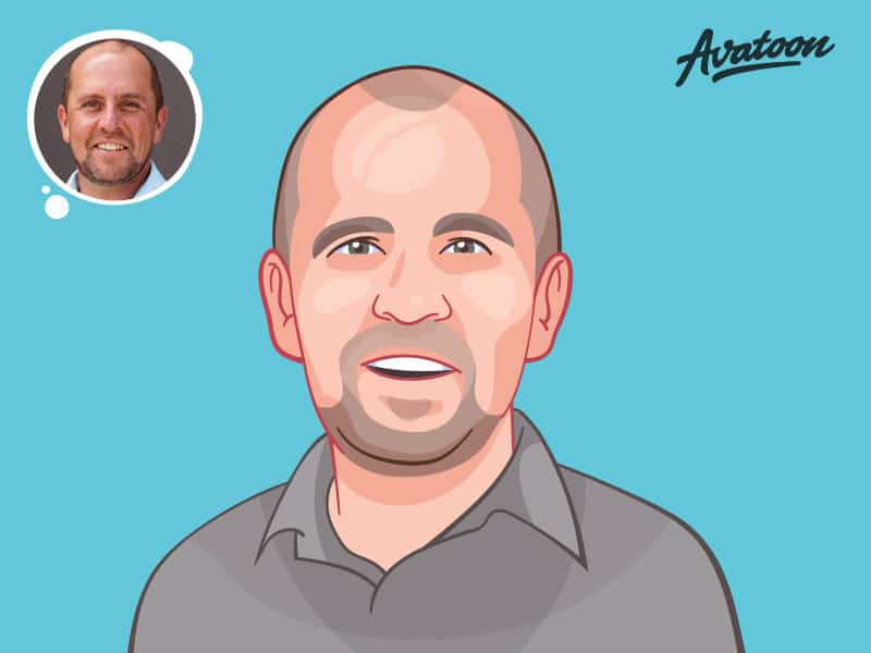 Vector avatar or portrait of yourself
