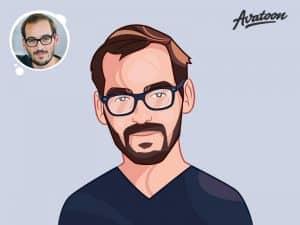 Hand Drawn Profile Illustration