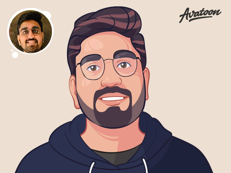 cartoon drawing avatar