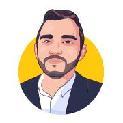 Custom Cartoon Avatar of a Business Man