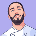 Custom Avatar Of a Chef