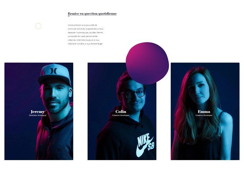 Meet The Team Photography