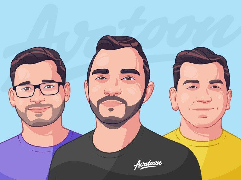 Why Do Get Custom Cartoon Avatars For Company Staff And Team Members