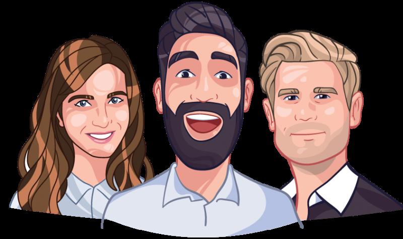 custom cartoon avatars for companies