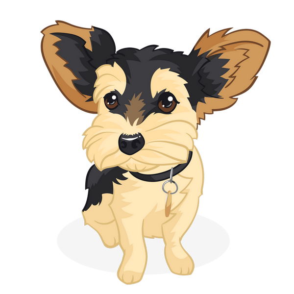 cartoon your dog photo